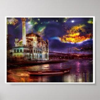 イスタンブールの素晴らしいポスター ポスター