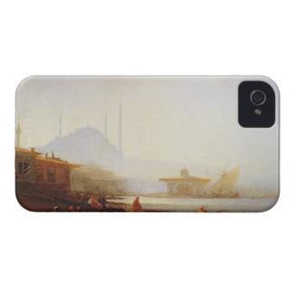 イスタンブール1864年の眺め(キャンバスの油) Case-Mate iPhone 4 ケース
