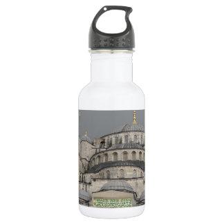 イスタンブール、トルコの青いモスク ウォーターボトル