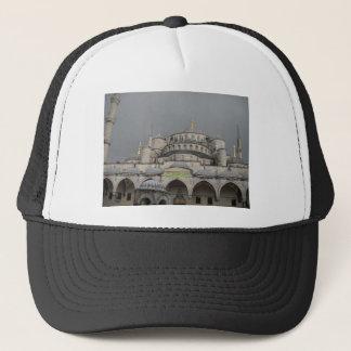 イスタンブール、トルコの青いモスク キャップ