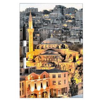 イスタンブール ホワイトボード