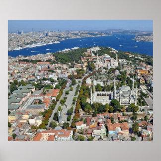 イスタンブール- Sultanahmet ポスター