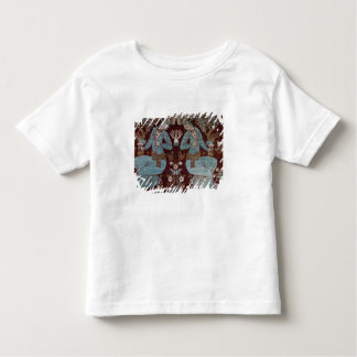 イスファハンのスタイルのパネル、ペルシャ語、17世紀(絹) トドラーTシャツ