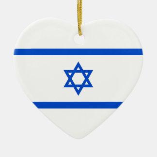 イスラエルの旗 セラミックオーナメント