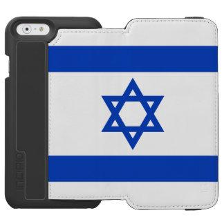イスラエルの旗 iPhone 6/6Sウォレットケース