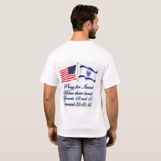 イスラエルの米国旗のコレクション Tシャツ