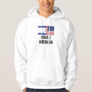 イスラエルの米国旗 パーカ