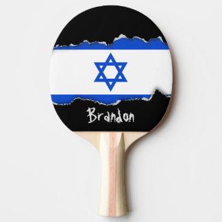 イスラエル人の旗 卓球ラケット