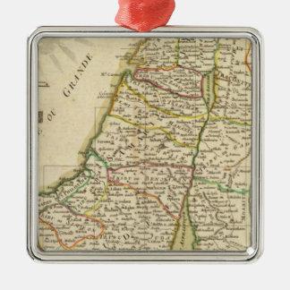 イスラエル共和国およびパレスチナ3 メタルオーナメント