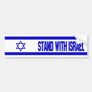 イスラエル共和国が付いている立場 バンパーステッカー