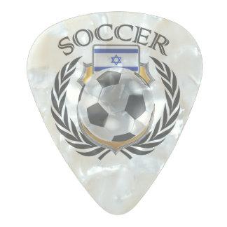 イスラエル共和国のサッカー2016ファンのギア パールセルロイド ギターピック