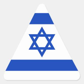 イスラエル共和国のステッカー(三角形)の旗 三角形シール