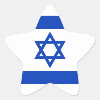 イスラエル共和国のステッカー(星)の旗 星シール