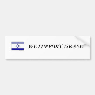 イスラエル共和国のバンパーステッカー バンパーステッカー