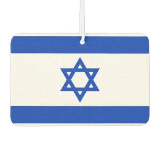 イスラエル共和国の国民の世界の旗 カーエアーフレッシュナー