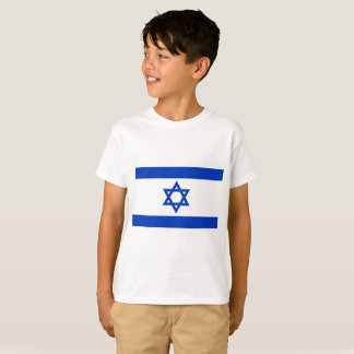 イスラエル共和国の国民の世界の旗 Tシャツ
