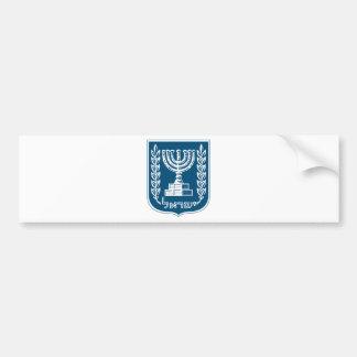 イスラエル共和国の国章 バンパーステッカー