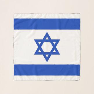 イスラエル共和国の旗が付いている正方形のスカーフ スカーフ