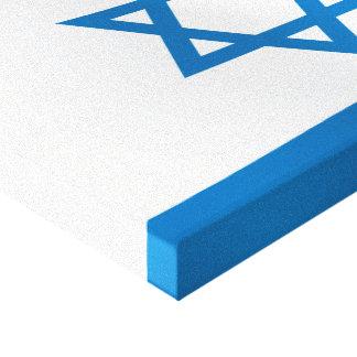 イスラエル共和国の旗 キャンバスプリント