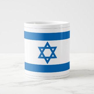 イスラエル共和国の旗 ジャンボコーヒーマグカップ