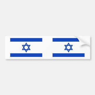 イスラエル共和国の旗 バンパーステッカー
