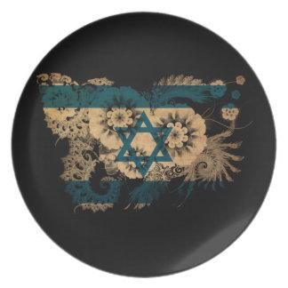 イスラエル共和国の旗 プレート