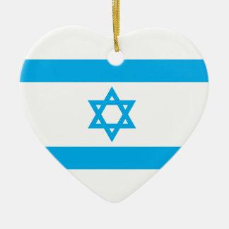 イスラエル共和国の旗- Magen David セラミックオーナメント