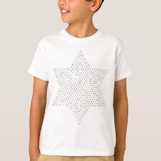 """""""イスラエル共和国の星""""はヘブライ手紙と組み立てました Tシャツ"""