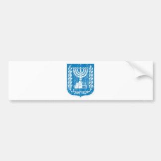 イスラエル共和国の紋章付き外衣 バンパーステッカー