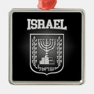 イスラエル共和国の紋章付き外衣 メタルオーナメント