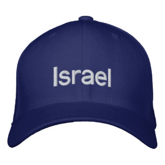 イスラエル共和国の野球帽 刺繍入りキャップ