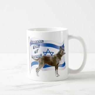 イスラエル共和国のCanaan犬 コーヒーマグカップ