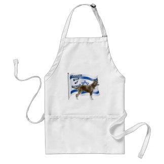 イスラエル共和国のCanaan犬 スタンダードエプロン