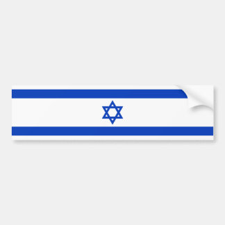 イスラエル共和国-イスラエルの旗 バンパーステッカー