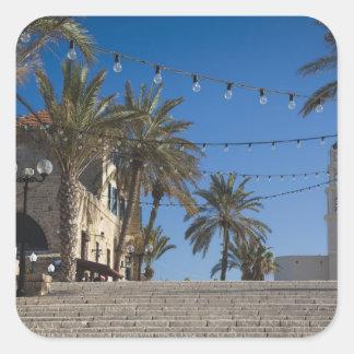 イスラエル共和国、テル・アビブ、Jaffaの階段、古いJaffa スクエアシール