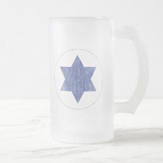 イスラエル共和国 フロストグラスビールジョッキ