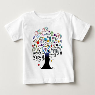 イスラエル共和国 ベビーTシャツ