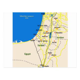 イスラエル共和国map.JPG ポストカード