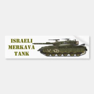 イスラエルMERKAVAタンク バンパーステッカー