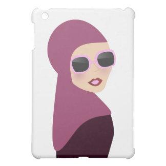 イスラム教のスカーフのmuslimaのhijabの女性スタイル iPad miniケース