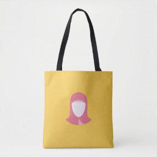 イスラム教のトートバックの女性 トートバッグ