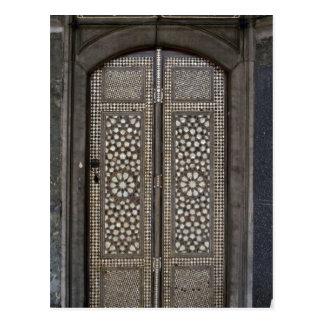 イスラム教のドア ポストカード