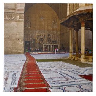 イスラム教のモスク、カイロに導く祈りの言葉敷物 タイル