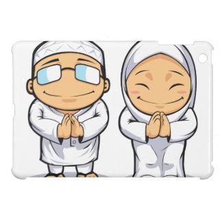 イスラム教の人及び女性の漫画 iPad MINIケース