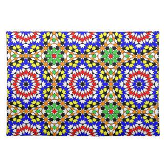 イスラム教の幾何学的なパターンランチョンマット ランチョンマット