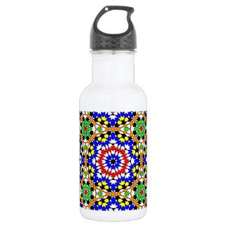 イスラム教の幾何学的なパターン自由のボトル ウォーターボトル