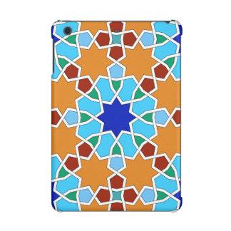 イスラム教の幾何学的なパターンipadの小型場合