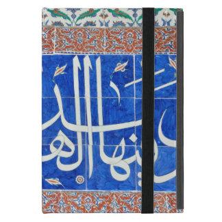 イスラム教の書道のIznikのタイル iPad Mini ケース