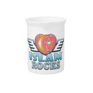 イスラム教の石 ピッチャー