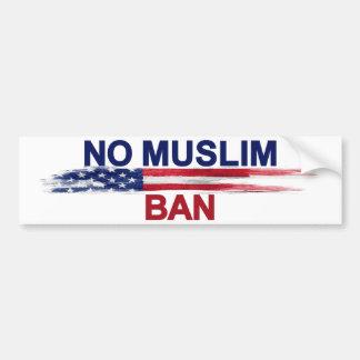 イスラム教の禁止無し バンパーステッカー